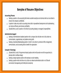12 13 Resume Job Objective Sample Lascazuelasphilly Com