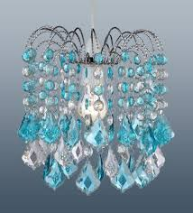 crystal turquoise chandelier