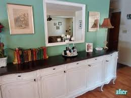 long buffet table. I Love The Long Buffet Table And How Top Is Stained F