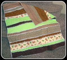 My Fabric Obsession: Strip Rag Quilt Tutorial: Super Easy & Owl Rag Quilt Adamdwight.com