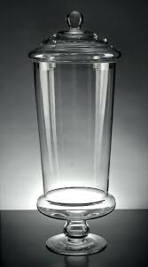clear glass jars with locking lids large display at s apothecary