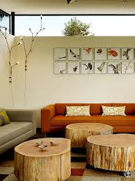 view in gallery tree trunks transformed into ultra portable coffee and side tables design schwartz and architecture