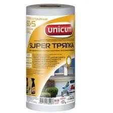<b>Тряпка Unicum SMALL</b>, белый, 21х30 см, с перфорацией, 60+5 ...