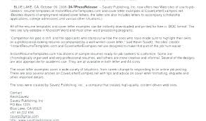 Employment Cover Letter Example Sample For Job Posting Of Interest