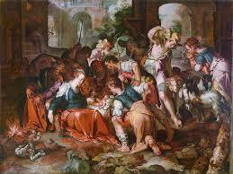 joachim antonisz wtewael 1566 1638 the adoration of the shepherds realized 306 300