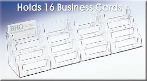 countertop 16 pocket business card holder