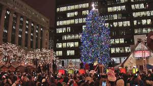 christmas tree lighting chicago. chicagou0027s official christmas tree will move to millennium park nbc chicago lighting c