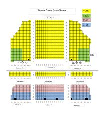 Bronx Tale Theater Seating Chart Season Broadway Bingahmton Tickets Nac Entertainment