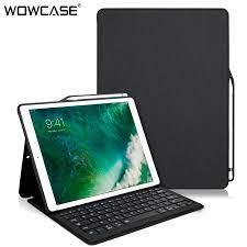 Bàn Phím Dành Cho iPad Pro 12.9 2015 2017 Tích Hợp Bút Chì Vải Hoa Văn Bàn  Phím Thông Minh Cho iPad Pro 12.9 inch Coque Tablets & e-Books Case