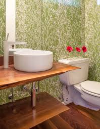Powder Room Wallpaper Powder Room Wallpaper Inspired By Pantone 2017 Color Of The Year
