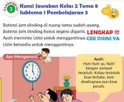 Kunci jawaban buku tematik ini hanya ditujukan bagi orang tua sebagi panduan dalam membimbing anak belajar di rumah. Lengkap Kunci Jawaban Kelas 2 Tema 8 Subtema 1 Pembelajaran 3 Kunci Jawaban Lengkap Dan Terbaru Simplenews