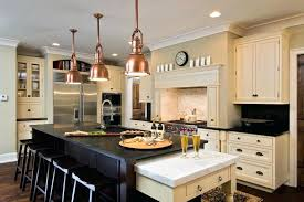 lighting design ideas copper pendant lights kitchen tropical with regard to brilliant household light prepare above