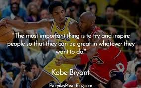 40 Kobe Bryant Quotes On Being Successful Everyday Power Stunning Kobe Bryant Quotes