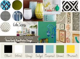 Yellow Color Schemes For Living Room I Like The Navy Turquoise Yellow Gray And Green Happy Color