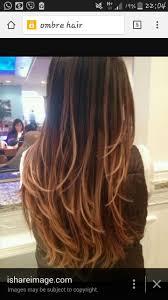 Ombre Hair Color Rich Dark Brown