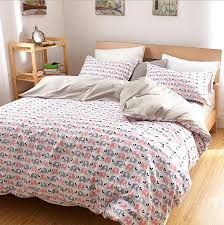luxury elephant bedding set queen king twin size cotton ed sheets duvet cover pillowcase bed linen bed set bedclothes 3 4pcs in bedding sets from home
