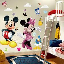 diy mickey mouse minnie wall sticker