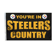 pittsburgh steelers country 3 x 5 flag