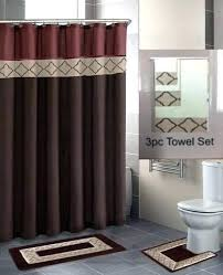captivating shower curtains and rugs ideas with bathroom sets curtain accessories matching captiva