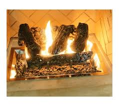 concrete log set for fireplaces