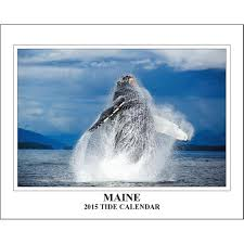 Maine Tide 2015 Wall Calendar