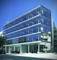 two story office building plans. Beautiful Two Story Office Building Plans #1: Office-building -exterior-design_177019 E