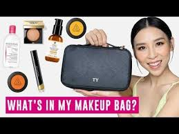 10 13 what s in my makeup bag tina yong