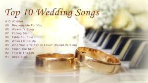 top 10 wedding songs for walking down the aisle best wedding Wedding Entourage Reception Entrance Songs top 10 wedding songs for walking down the aisle best wedding songs 2017 youtube Entrance to Reception Wedding Party