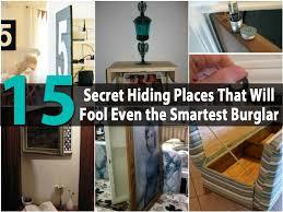 15 Secret Hiding Places That Will Fool Even the Smartest Burglar ...