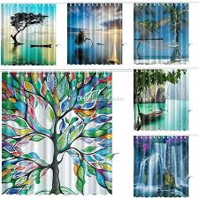 tree of life shower curtains tree of life shower curtains color tree waterfall waterproof bathroom shower