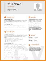 10 Sample Basic Resumes Agenda Example