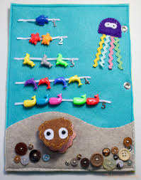 quiet book ideas under the sea counting