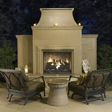 afd grand cordova ventless outdoor fireplace