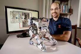 Mechanical Engineering Robots Human Reflexes Keep Two Legged Robot Upright