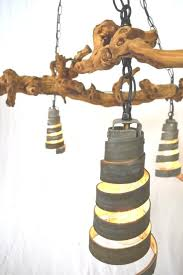 hand made old vine o gvine chandelier by wine pertaining to vine chandelier
