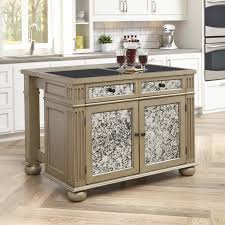 White Kitchen Island With Granite Top Granite Kitchen Islands Carts Youll Love Wayfair