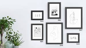 black picture frames wall. Black Picture Frames Wall Gallery