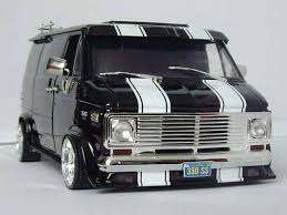 van models | Chevrolet Van black Highway 61 1/18 | VANNIN ...