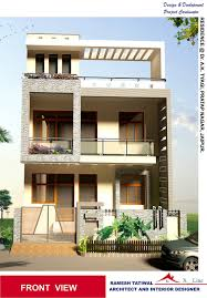 Front House Design Simple Modern Home Designs In India Home Modern Indian Home