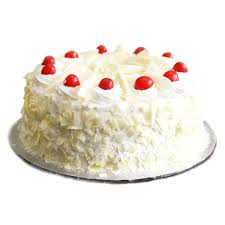 Buysend Half Kg White Forest Cake Online Giftmyemotions