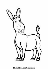 Small Picture donkey coloring picture donkey coloring sheet donkey coloring