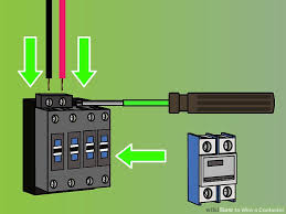 how to wire a contactor steps pictures wikihow image titled wire a contactor step 6