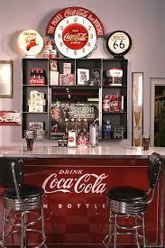 coca cola vintage style bar