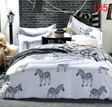animal print bedding set animal print bedding sets zebra print sheets queen size twin full queen cartoon zebra polyester 3 cheetah print bedroom sets