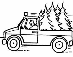 Kleurennu Rijdende Pickup Kleurplaten