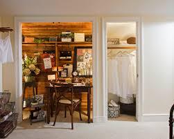 closet in alcove home design photos alcove office