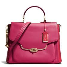 ... spectator medium black satchels aok ea184 b5c19  where can i buy lyst  coach madison spectr saff sadie flap satchel in pink 24785 0942c
