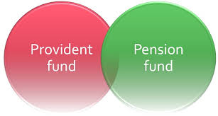 Provident Fund Chart Difference Between Provident Fund And Pension Fund With