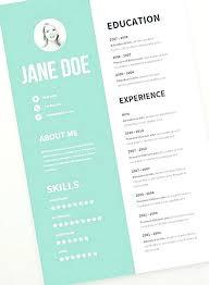 Free Teaching Resume Template Cool Free Creative Resume Templates Microsoft Word Medicinabg