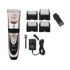 2017 new professional grooming kit animal pet cat dog hair trimmer clipper shaver set